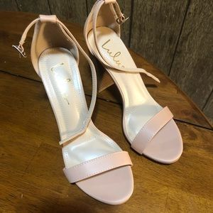 Lulu's Shoes - Nude Lulus heels